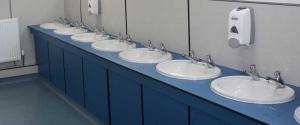 Refurbished Office Bathroom