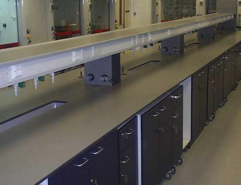 Heriot-Watt Laboratory Refurbishment