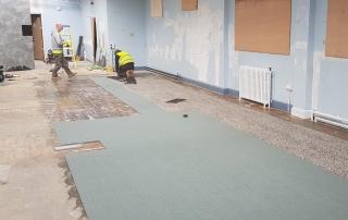 Office Refurbishment new flooring, Ayr