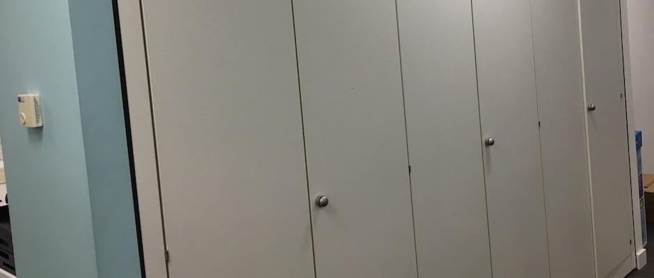 Storage wall installation