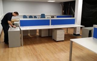 New office furniture installation Glasgow